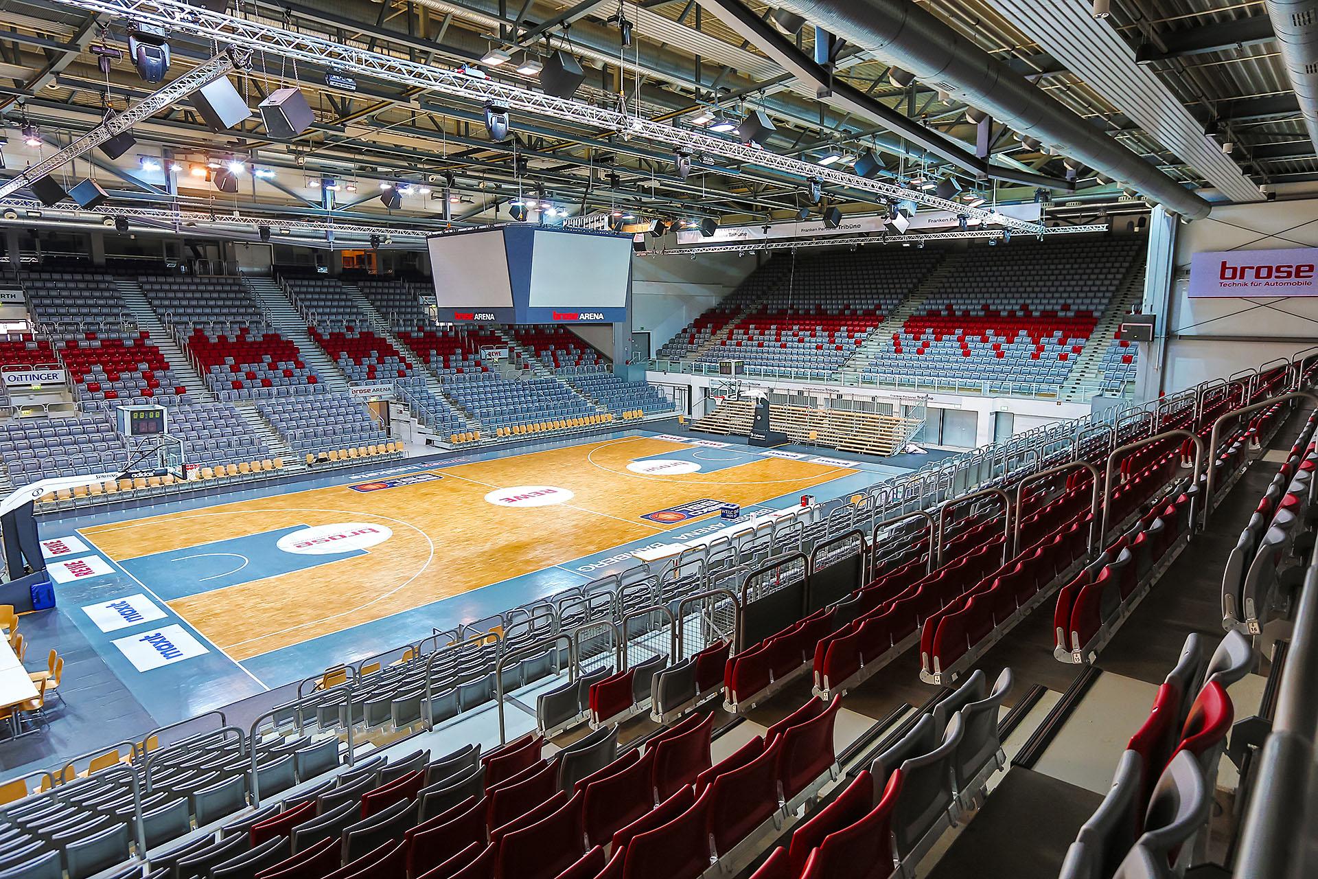Brose Arena Bamberg Eheim M 246 Bel