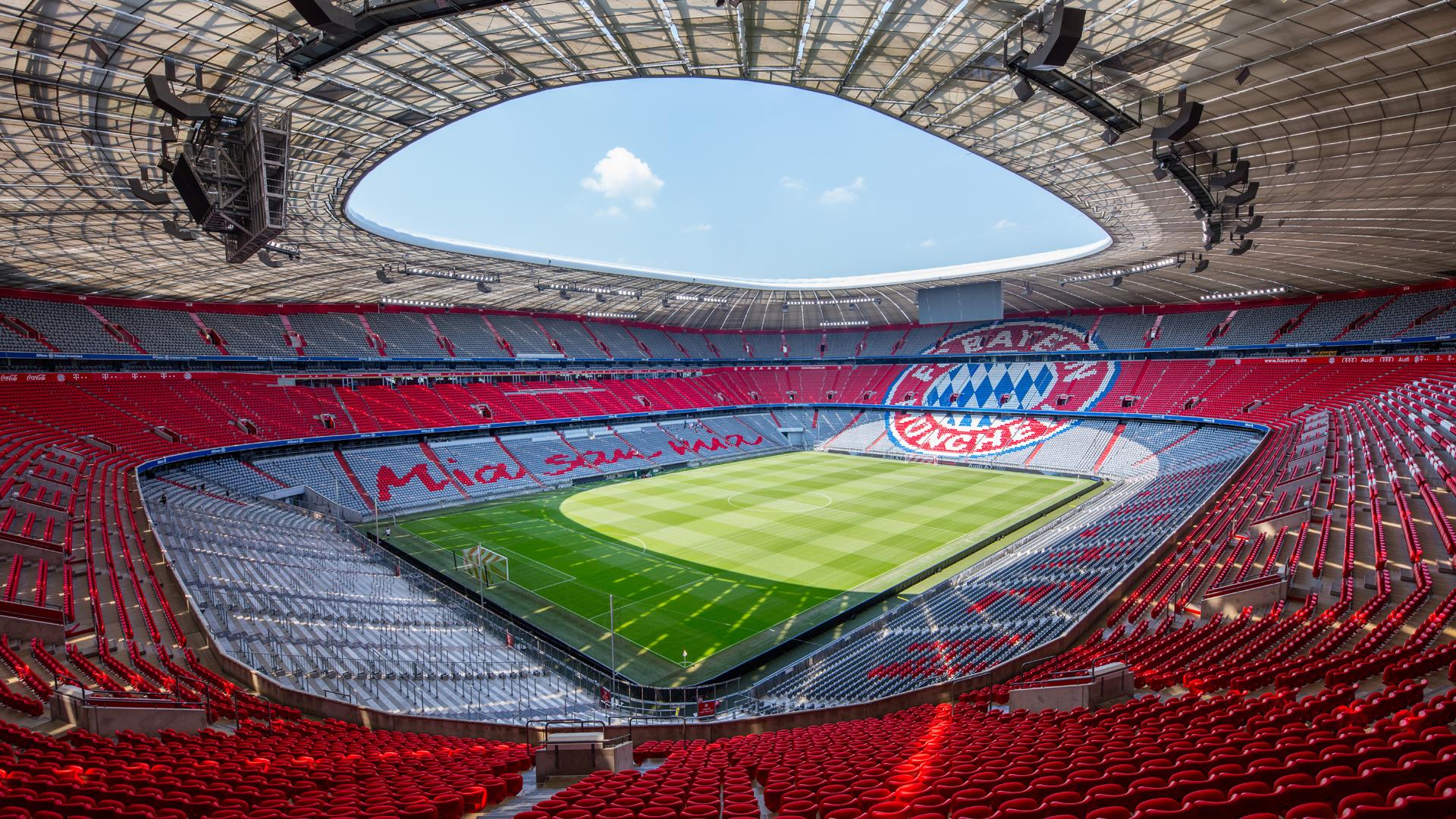 Allianz Arena Plätze