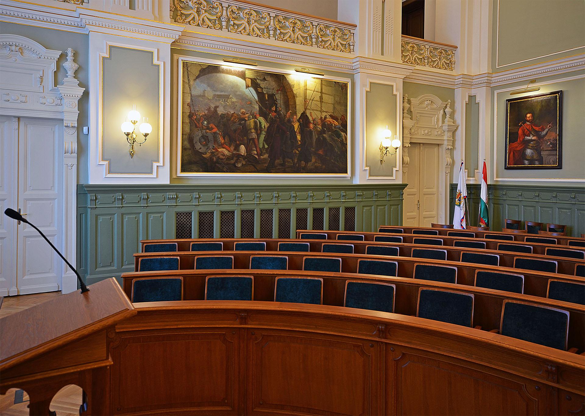 HU Györ Rathaus Festsaal 07 web