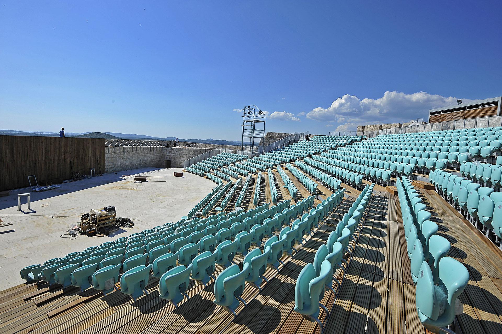 Sibenik, 03.06.2014 – Ljetna pozornica na tvrdjavi Sv. Mihovila