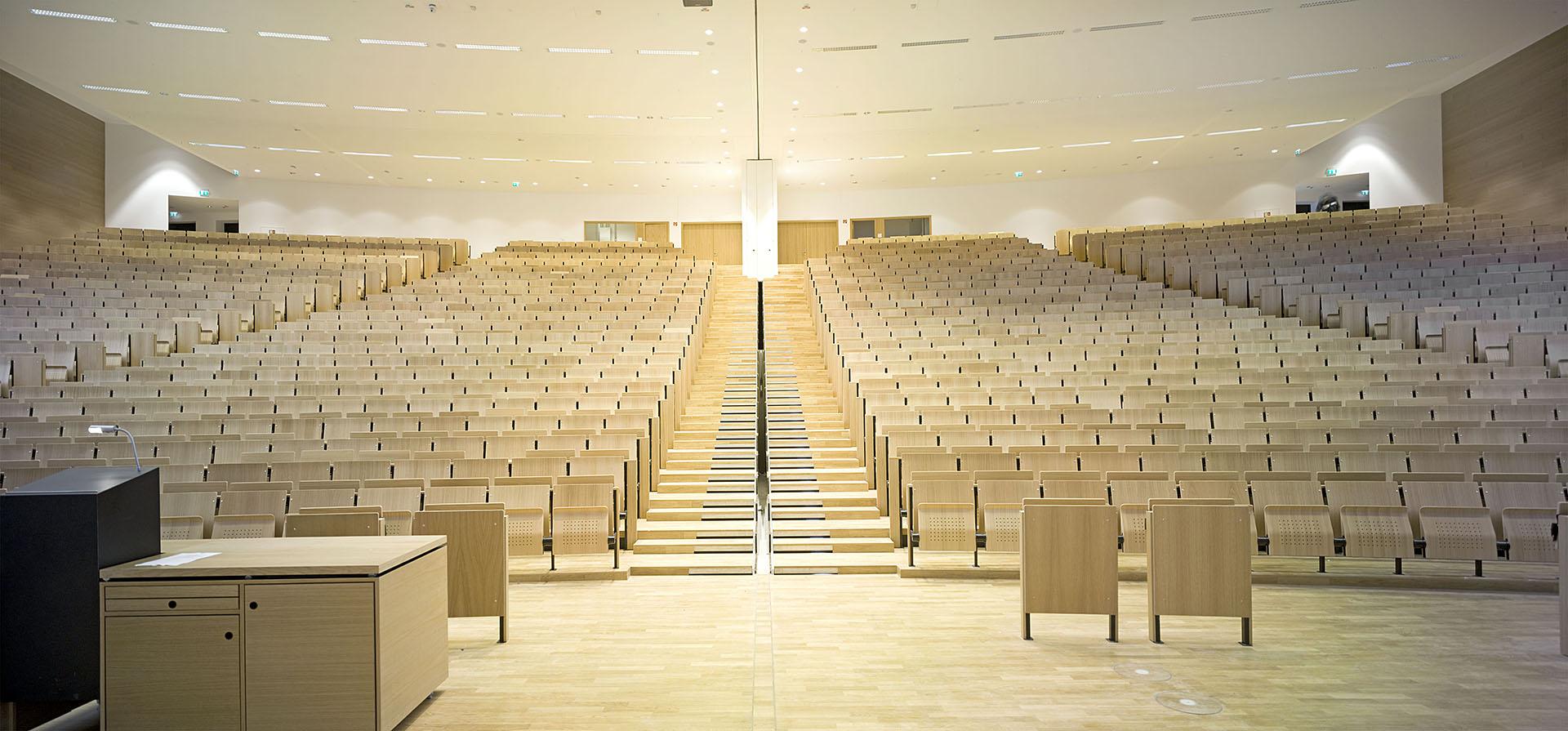 Goethe Universitaet, Hoersaalzentrum, Campus Westend, Frankfurt